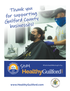 Thank You for Supporting Guilford County Businesses Graphic
